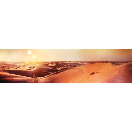 Star Wars Tatooine Sunset by Rich Davies Gallery-Wrapped Canvas Giclee Art Print