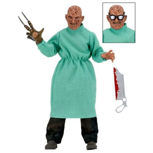 Nightmare on Elm Street 4: Dream Master Surgeon Freddy 8-Inch Clothed Action Figure