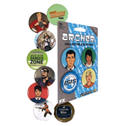 Archer Wave 1 Button 4-Pack Set