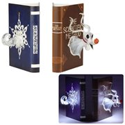 Disney Showcase Nightmare Before Christmas Light Up Zero Bookends Statue