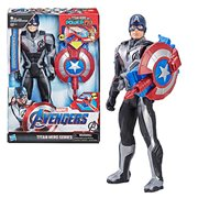 Avengers: Endgame Titan Hero Power FX Captain America 12-Inch Action Figure