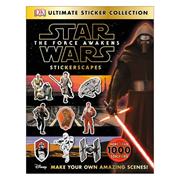 Star Wars: Episode VII - The Force Awakens Stickerscapes Ultimate Collection Book