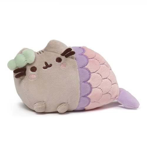 Pusheen the Cat Spiral Shell Mermaid Plush