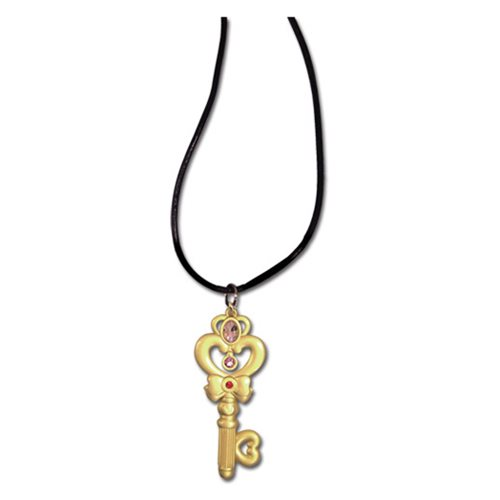Sailor Moon Time Key Necklace