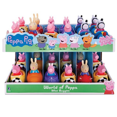 Peppa Pig Mini-Buggies Vehicle Display Case