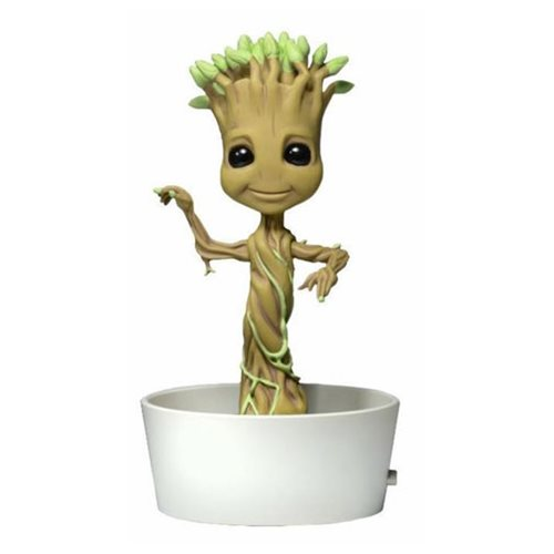 Guardians of the Galaxy Classic Potted Groot Solar Body Knocker Bobblehead