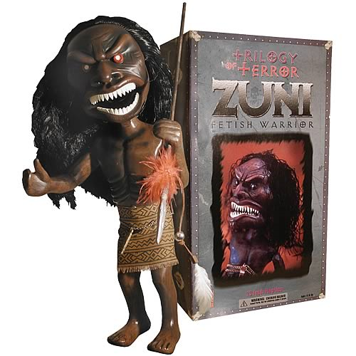 Trilogy of Terror Zuni Fetish Warrior Figure