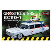 Ghostbusters Ecto-1 1:25 Scale Snap-Fit Model Kit