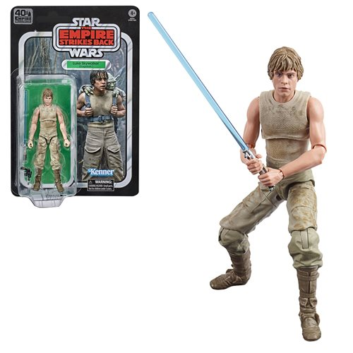 Star Wars Black Series ESB Luke Skywalker Dagobah Figure