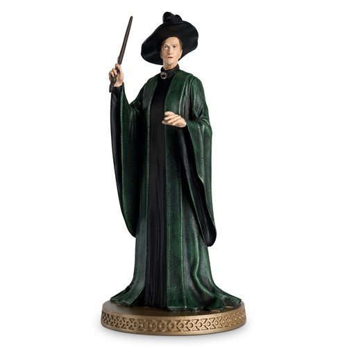 Harry Potter Wizarding World Collection Professor Minerva McGonagall Figure with Collector Magazine