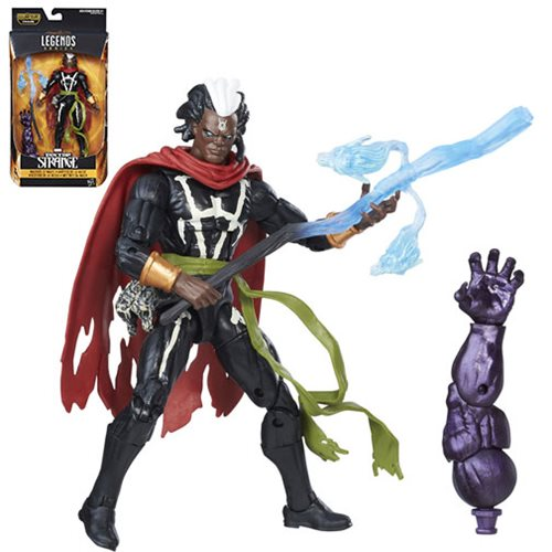 Doctor Strange Marvel Legends 6-Inch Masters of Magic Brother Voodoo Action Figure, Not Mint