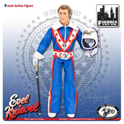 Evel Knievel in Blue Jumpsuit 8-Inch Action Figure