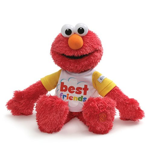 Sesame Street Elmo Best Friends 8 1/2-Inch Talking Plush