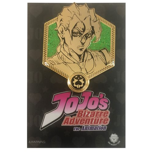 Jojo's Bizarre Adventure Golden Fugo Enamel Pin