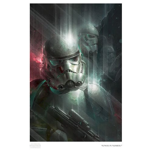 Star Wars Power in Numbers by Raymond Swanland Paper Giclee Art Print