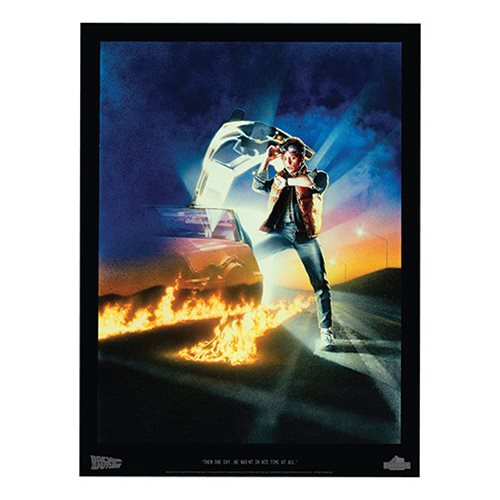 Back to the Future Then One Day Part I Lithograph Print