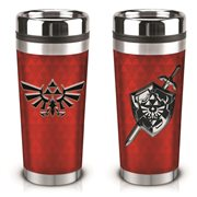 The Legend of Zelda Triforce Printed Travel Mug