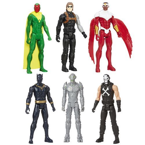 Avengers Titan Hero B 12-Inch Action Figures Wave 2 Case