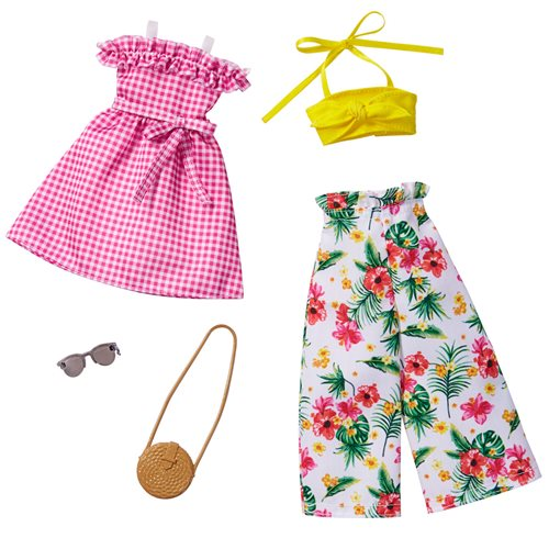 Barbie Floral and Yellow Fashion Accessory Pack 9
