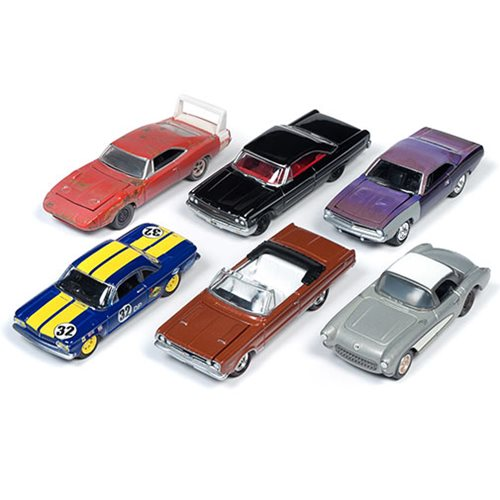 Johnny Lightning Cars Coffee Barn A 1:64 Die-Cast 6-PK Set