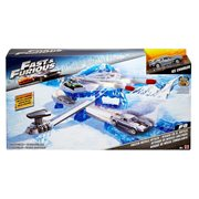 Fast and Furious Street Scenes Frozen Missile Attack Playset