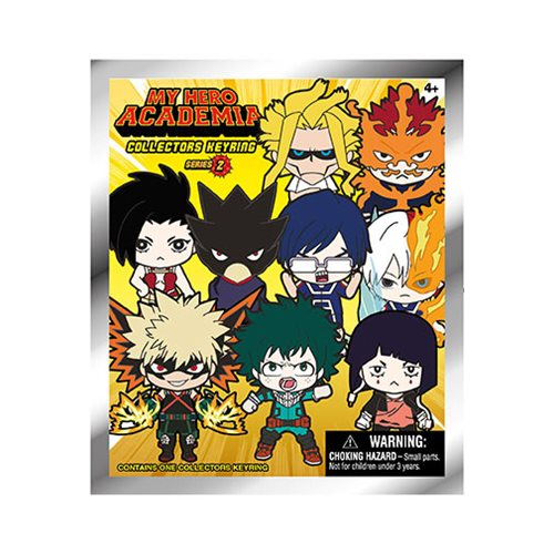 My Hero Academia Series 2 Figural Key Chain Display Case