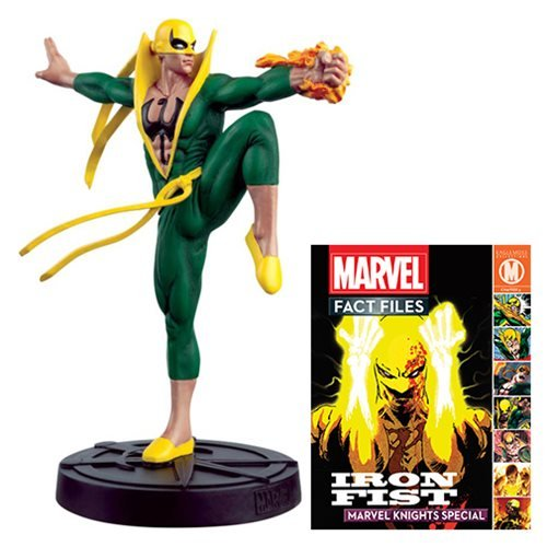 Marvel Fact Files Special #22 Iron Fist Statue with Collector Magazine