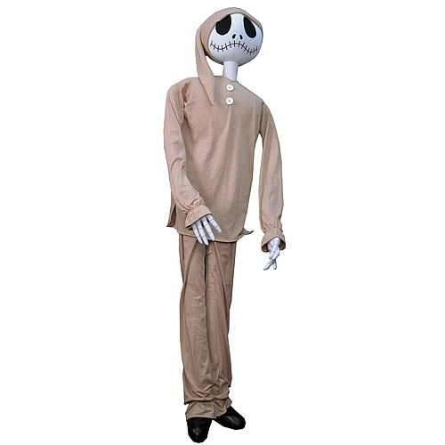 e6efbce481 Nightmare Before Christmas Jack in Pajamas Life-Size Plush ...
