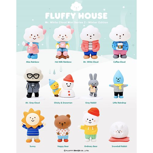 Mr. White Cloud Series 2 Winter Edition Blind Vinyl Figure
