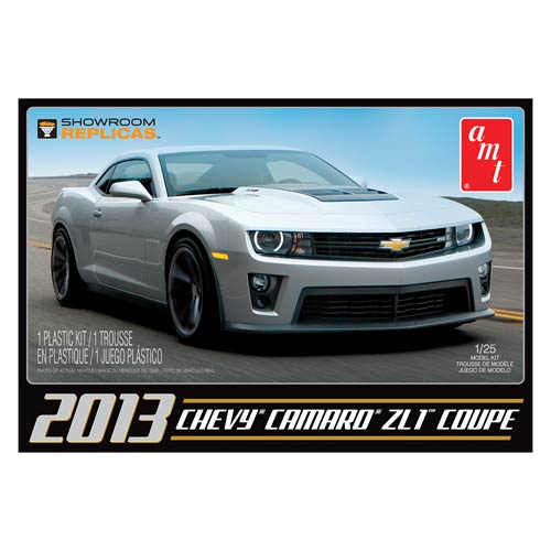 Chevy Camaro 2013 ZL-1 Showroom Replica 1:25 Model Kit