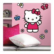 Hello Kitty The World of Hello Kitty Peel and Stick Giant Wall Decals