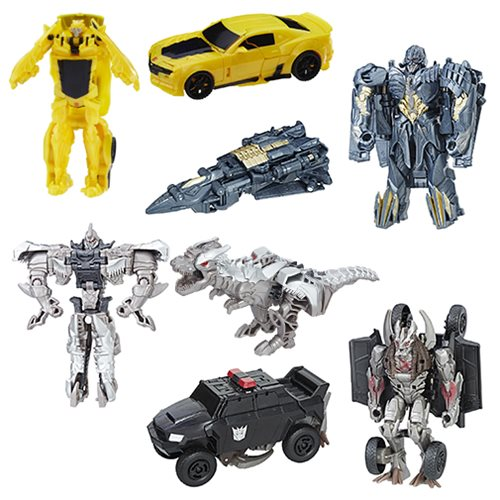 Transformers Last Knight One Step Turbo Changers Wave 2 Set
