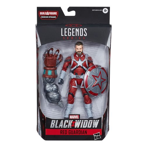 Black Widow Marvel Legends 6-Inch Red Guardian Action Figure