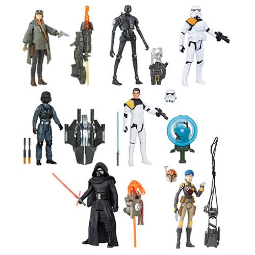 Star Wars Rogue One 3 3/4-Inch Action Figures Wave 1 Case