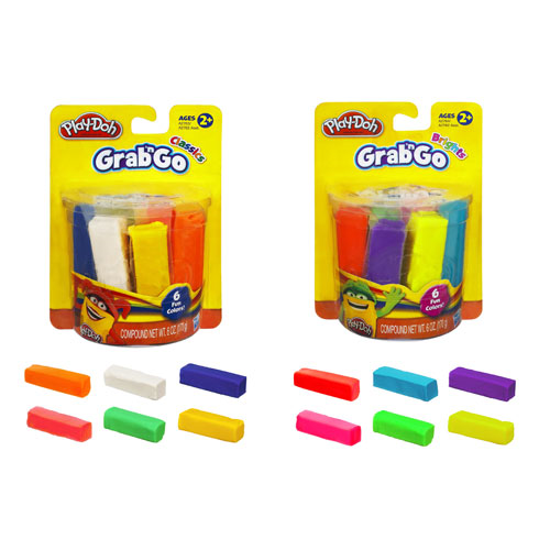 Play-Doh Grab and Go 6-Packs Wave 1 Case
