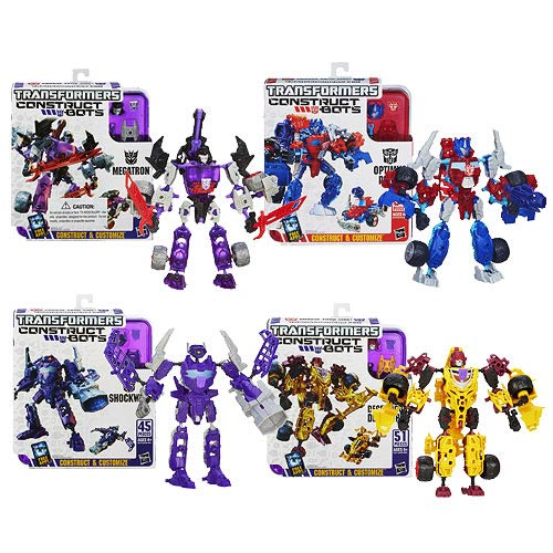 Transformers Construct-Bots Elite Wave 3 Case