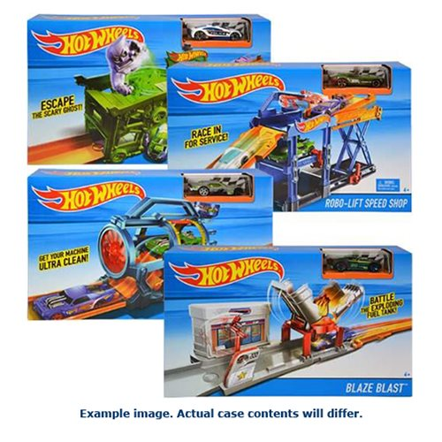 Hot Wheels Fold-Out Playset Case