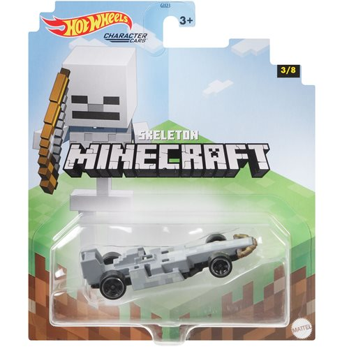 Minecraft Hot Wheels Character Cars 2021 Mix 2 Case