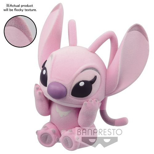 Lilo & Stitch Angel Ver. B Fluffy Puffy Statue