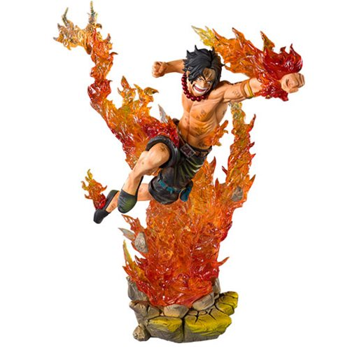 One Piece Portgas D Ace FiguartsZERO Statue