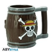 One Piece Barrel 3D Mug