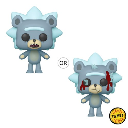 Rick and Morty Teddy Rick Pop! Vinyl Figure