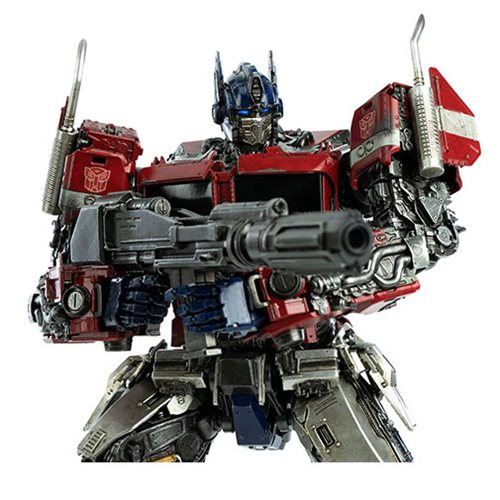 Transformers Bumblebee Movie Optimus Prime Deluxe Scale Action Figure
