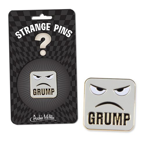 Grump Strange Pin