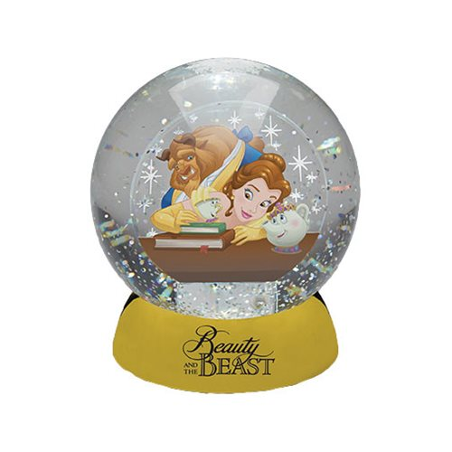 Beauty And The Beast Waterdazzler Snow Globe