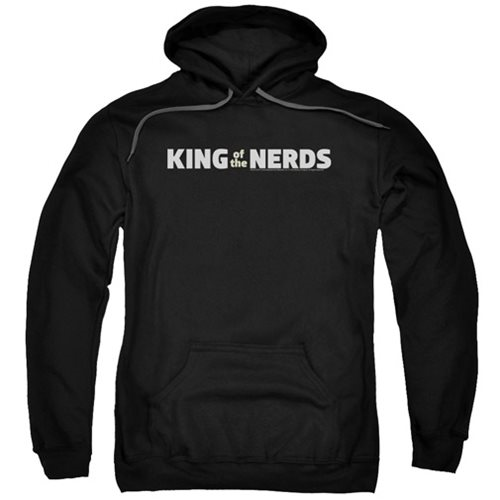 King of the Nerds Horizontal Logo Hoodie