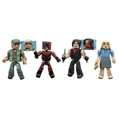 Daredevil TV Series Minimates Series 2 Box Set