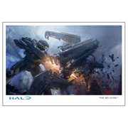 Halo 5 The Mechanic Paper Giclee Art Print