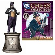 Batman Penguin Black Knight Chess Piece with Magazine