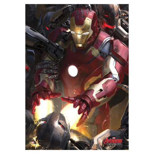 Avengers: Age of Ultron Iron Man MightyPrint Wall Art Print